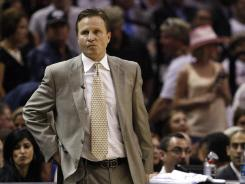 Oklahoma City Thunder coach Scott Brooks says the team is ready to take on the challenge of a 2-0 deficit against the San Antonio Spurs in the Western Conference finals, with Game 3 on Thursday night.
