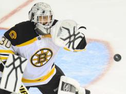 Tim Thomas has told the Bruins he's thinking about taking next season off.