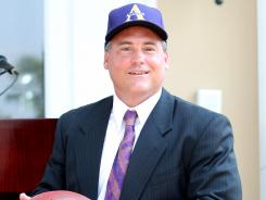 Alcorn State made history when it hired Jay Hopson as the school's new football coach.