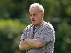 Joe Vitt is the Saints' acting head coach right now, but he'll serve a six-game suspension when the season starts.