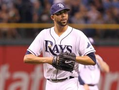 Tampa Bay starting pitcher David Price had a five run lead to work with as he took the mound in the second inning against the Baltimore Orioles.