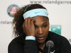 Serena Williams is among the most active of tennis pros on Twitter, and she has seen both the positives and the negatives. About some of the tweets she sees, &quot;Hey, mean is in. Whatever.&quot;