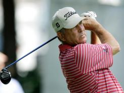 Jay Haas, who won the Champions Tour event at Glen Oaks Country Club in 2007 and 2008, will try to become the first golfer to win three times in Iowa.