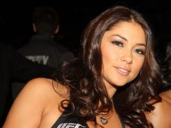 UFC octagon girl Arianny Celeste was arrested for what police called a domestic scuffle on May 26.