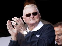 White Sox broadcaster Ken Harrelson ranted in the television booth about Mark Wegner, saying umpires need to be held accountable and some don't know the game of baseball.