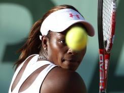 Sloane Stephens' run at the French Open ended Sunday with a 7-5, 6-4 loss to U.S. Open champion Sam Stosur.