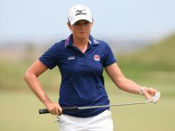 Stacy Lewis earns her second victory of the season Sunday at the ShopRite LPGA Classic on the Bay Course at Seaview Resort in Galloway, N.J.