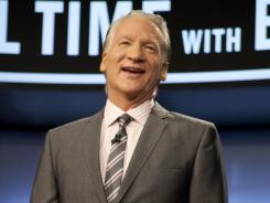 "Comedian and political satirist Bill Maher says of his purchase of a minority share of the Mets: ""I finally found something I can be apolitical about."""