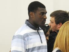 Justin Blackmon's attorney entered a not guilty plea for him to a misdemeanor count of driving under the influence.