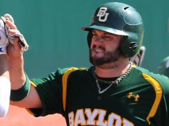 Baylor catcher Josh Ludy is one of the nation's leading RBI men with 69 in his 60 games.