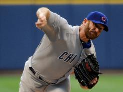 Cubs starter Ryan Dempster, who broke an 18-start winless streak Tuesday night at Milwaukee, improved to 16-6 against the Brewers in his career.