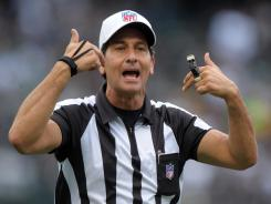 referee Gene Steratore.