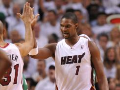 Chris Bosh returned to action in Game 5 for the Miami Heat, playing 14 first-half minutes. But the team will need more in Game 6 if the Heat are to stay alive in the Eastern Conference Finals.
