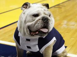 Butler mascot Blue II gained fame after the school advanced to consecutive title games in the NCAA tournament.