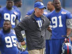 Head coach Tom Coughlin is now under contract to watch over the New York Giants through the 2014 season.
