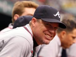Braves third baseman Chipper Jones, who plans to retire after the season, has been sidelined since May 24.