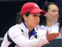 Captain Mary Joe Fernandez and the U.S. Fed Cup team will travel to Italy for Round 1 of the 2013 Fed Cup.