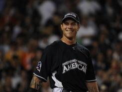 In the 2008 Home Run Derby, Josh Hamilton hit a record 28 home runs in the first round of the competition.