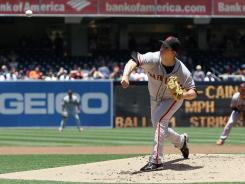 Matt Cain has allowed just two earned runs in his last 21 2/3 innings pitched.