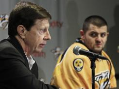 After opening welcoming Alexander Radulov in March, Nashville Predators general manager David Poile is now cutting ties.