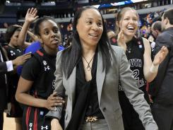 Dawn Staley just finished her fourth season as coach of South Carolina in March after spending eight seasons at Temple.