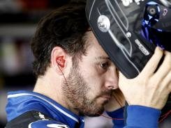 Jimmie Johnson and others are reaching higher speeds than ever at repaved Pocono Raceway this week.