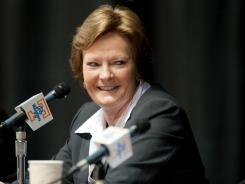 Former Tennessee women's basketball coach Pat Summitt had her first hole-in-one Friday playing at the Sevierville Golf Club.
