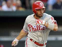 Shane Victorino had a homer and five RBI to help the Phillies snap a season-high losing streak.