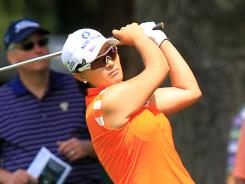 Se Ri Pak grabs the lead after the second round of the Wegmans LPGA Championship.