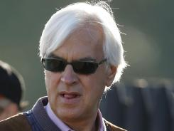 Horses trained by Bob Baffert were overtaken down the stretch in each of the Triple Crown races.