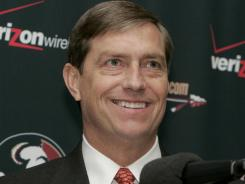 Florida State athletics director Randy Spetman supports the football program's expensive use of chartered planes.
