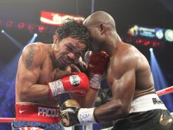 Timothy Bradley Jr., right, won a controversial split decision against Manny Pacquiao in their welterweight championship bout.