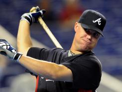 The Braves are 19-5 with Chipper Jones starting and 15-20 in games he doesn't start.