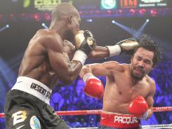 Timothy Bradley Jr., won a controversial split decision against Manny Pacquiao at the MGM Grand Garden Arena on Saturday.
