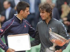 Novak Djokovic and Rafael Nadal are two of the reasons this is tennis' golden era.