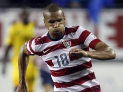 USA forward Terrence Boyd, right, is headed abroad.