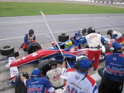 A.J. Foyt took exception to news media members, drivers and fans questioning whether Indy cars should run on ovals after a tragedy in Las Vegas last year.