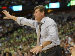 "Allegations: Geno Auriemma is accused of employment discrimination after he allegedly ""stalked, assaulted and battered"" a female NBA security officer in 2009."