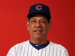 Rudy Jaramillo was named hitting coach of the Cubs in October 2009.