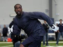 Brian Banks works out for the Seahawks on June 7.