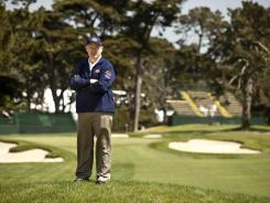 Pat Finlen, the director of golf maintenance operations at The Olympic Club, stands along the sixth hole, which will close out perhaps the toughest opening six-hole stretch in U.S. Open history.