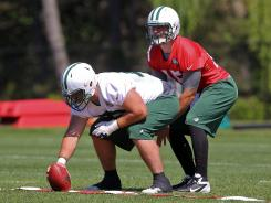 Tim Tebow may have to get used to working with the Jets backups, at least for now.