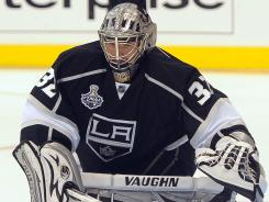 Los Angeles' Jonathan Quick had a goaltending performance for the ages.