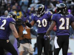 FS Ed Reed (20) is the last line of defense for the Ravens defense.