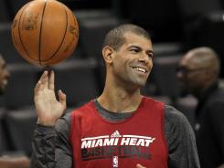 "Heat forward Shane Battier, 33, has made it to his first NBA Finals in his 11th season in the league. ""I never gave up hope,"" he says."