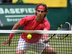Rafael Nadal calls the transition from clay to grass his biggest challenge.
