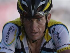 Seven-time Tour de France winner Lance Armstrong has been banned from the Ironman France.