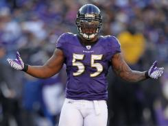 Terrell Suggs has made the Pro Bowl five times in his career.