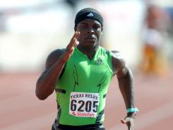 Marvin Bracy of Boone (Orlando) holds the fastest 100-meter time in the country at 10.05 seconds.