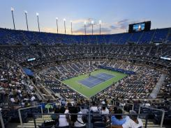 Arthur Ashe Stadium at the Billie Jean King USTA National Tennis Center.